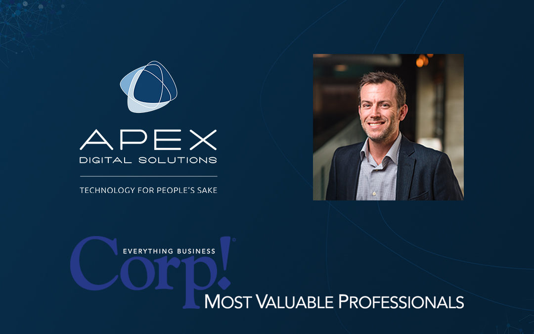 Apex Digital Solutions CEO Jason Lambiris to be Honored as a Most Valuable Entrepreneur