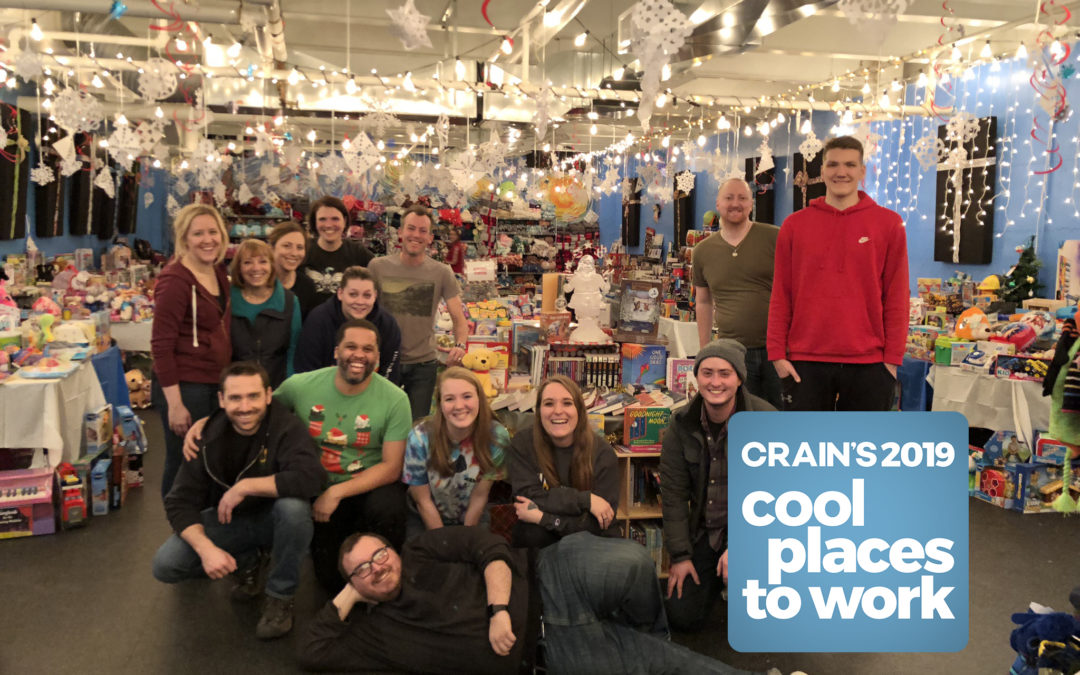 Apex Digital Solutions Named a Cool Place to Work in 2019 by Crain's Detroit Business