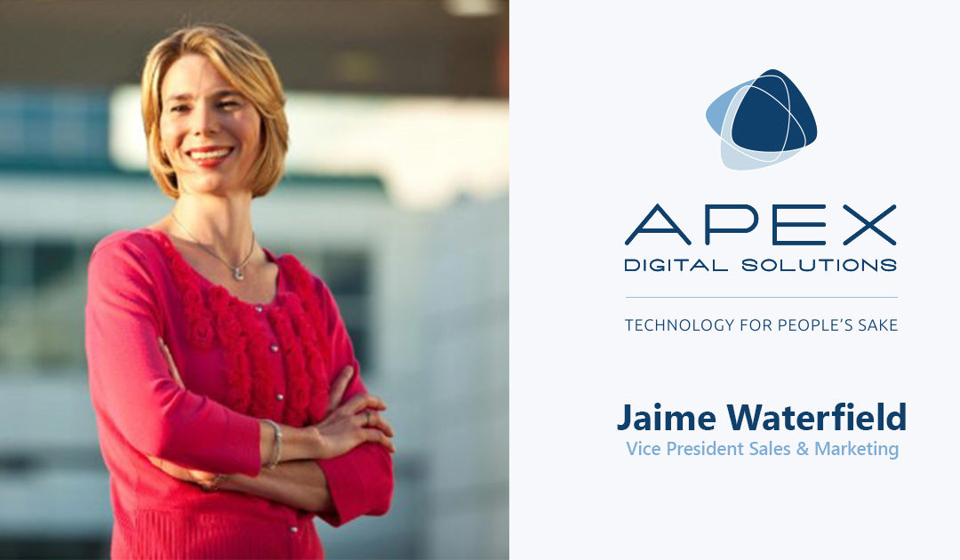 Apex Digital Solutions Expands Leadership Team by Adding New Vice President of Sales and Marketing
