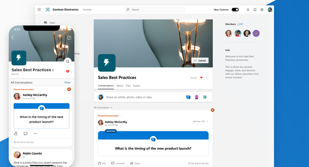 Microsoft's New Yammer is set to Inspire Collaboration and engagement