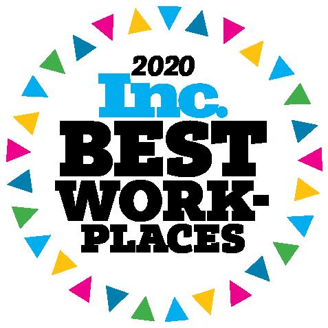 Inc Magazine 2020 Best Workplaces