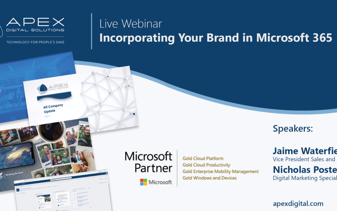 Webinar: Incorporating Your Brand in Microsoft 365