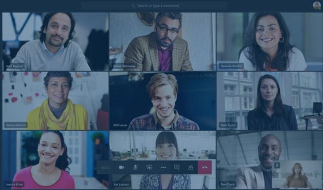 People in a Microsoft teams meeting