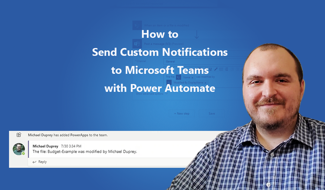 How to Send Custom Notifications to Microsoft Teams with Power Automate