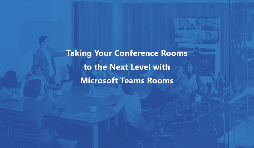 Header for Teams Rooms blog and webinar