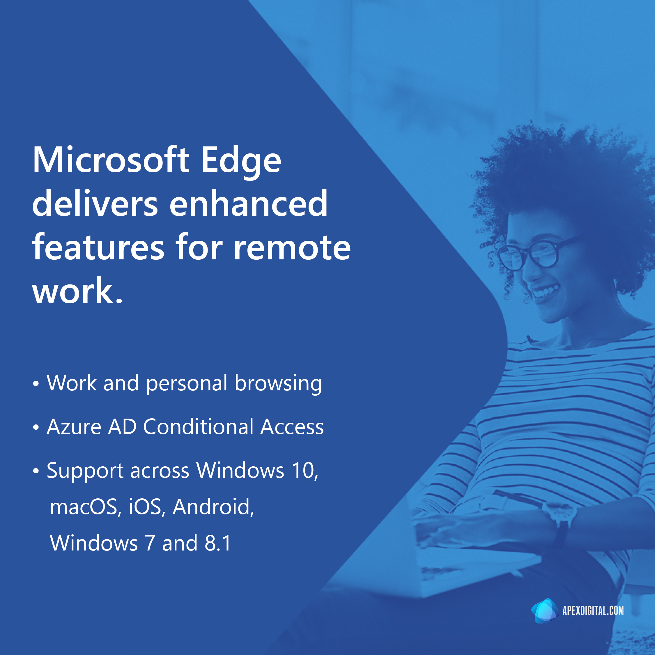 Microsoft Edge delivers enhanced features for remote work