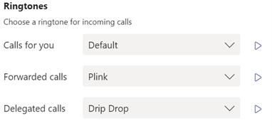 Teams Calling Tips Customize Ringtones