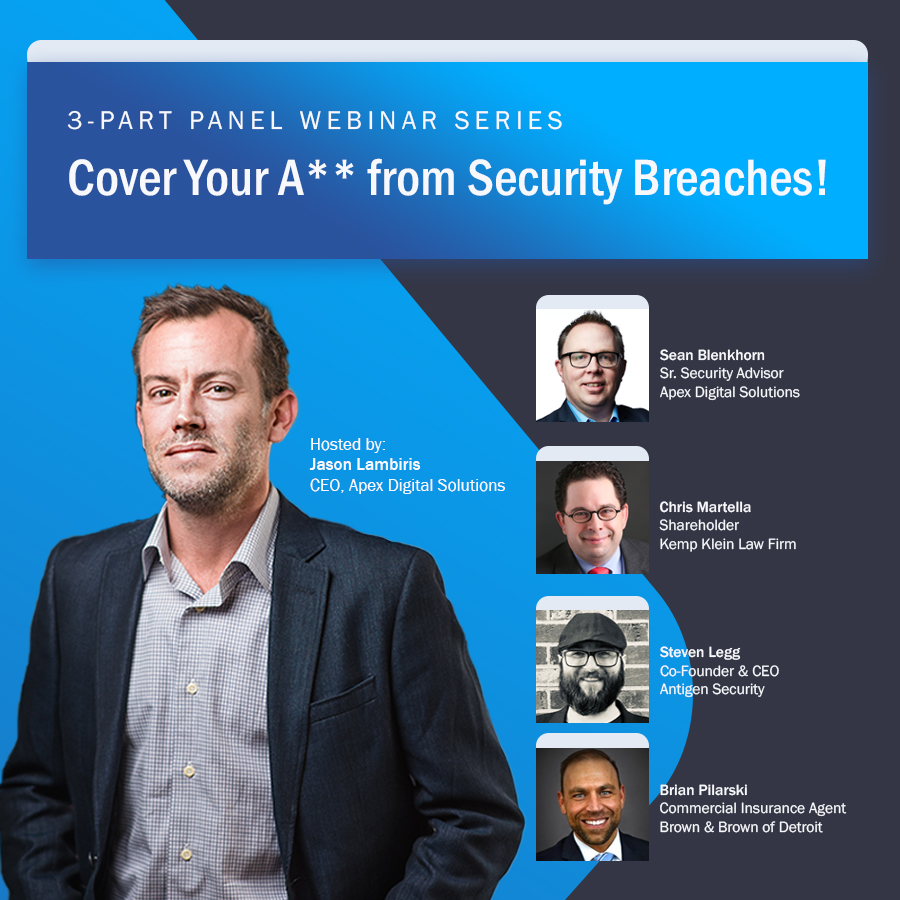Webinar Panel Cover Your A** From Security Breaches