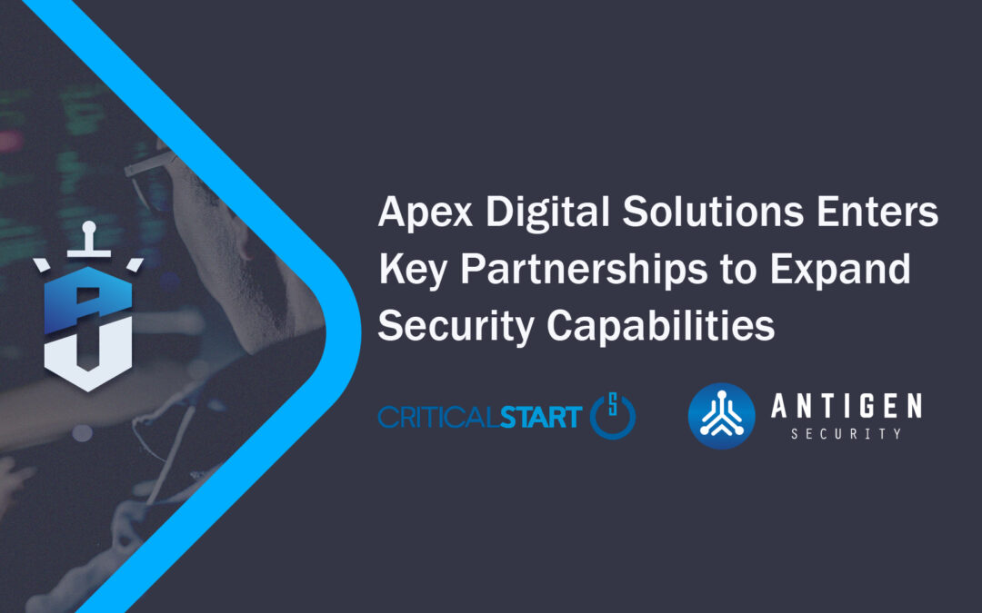 Aegis Managed Security Services Partnerships with Critical Start and Antigen Security