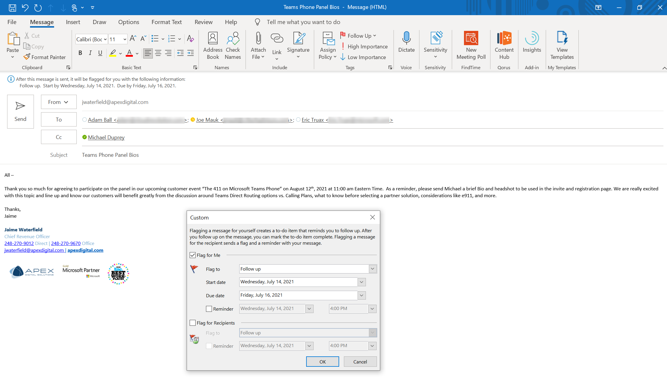 Microsoft To Do Microsoft Outlook Flagged Emails