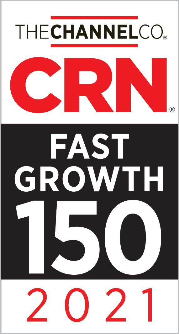 CRN Fast Growth 150 2021 Award
